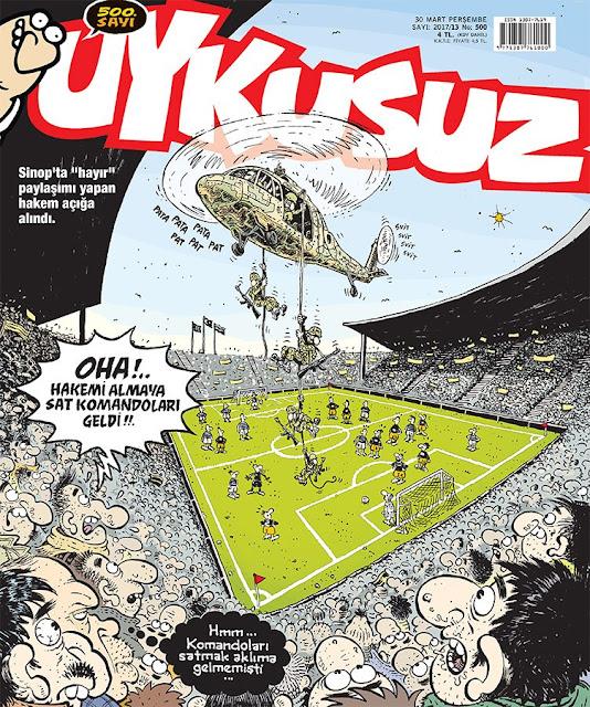 "Sinop'ta ""Hayır"" paylaşımı yapan hakem açığa alındı."