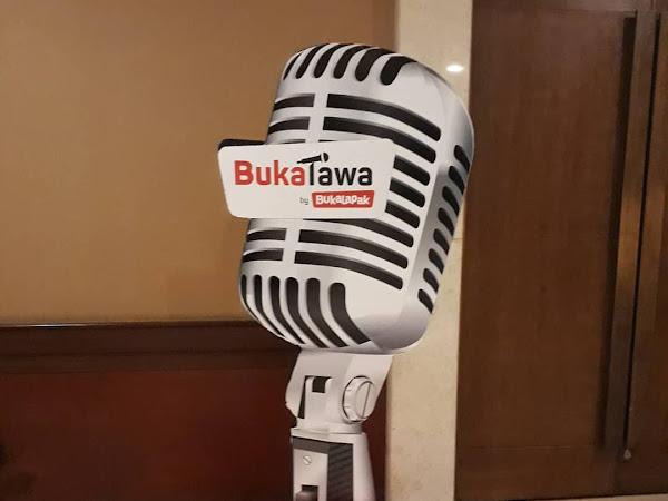 Tertawa bersama Bukalapak di Program BukaTawa.