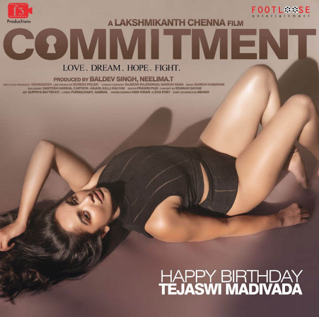 Tejaswi Madivada Commitment -Firstlook