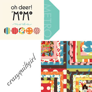 Moda OH DEER Quilt Fabric by Momo