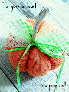How to make a sweater or shirt pumpkin