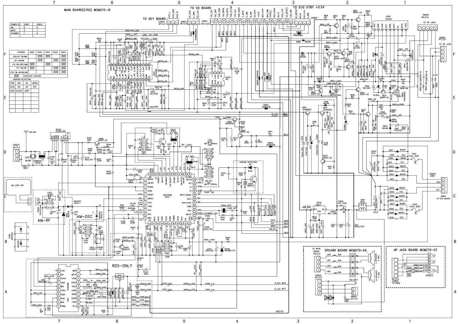 hight resolution of click on schematic to magnify wiring diagram database kdl60ex725 led driver motion sensor circuit diagram schematic