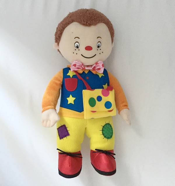 Textured Mr Tumble off Something Special toy review