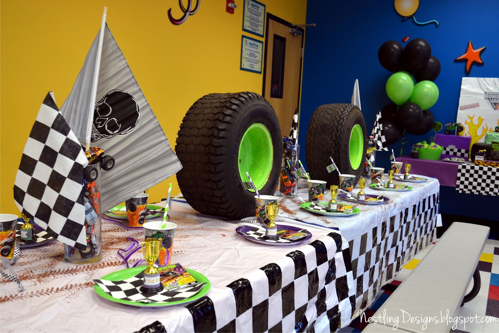Motocross Party Decorations