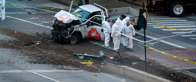 Deadly New York City truck attack photo