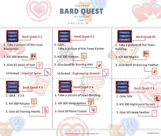 Quest Bard Juno Lv 99 di Game Ragnarok Mobile Eternal Love SEA Global
