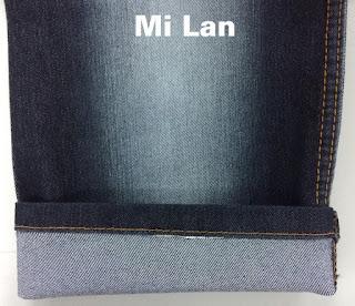 Vải jean Poly thun S301