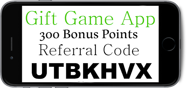 GiftGame App Referral Code, Bonus Code and Sign up Bonus 2018-2019