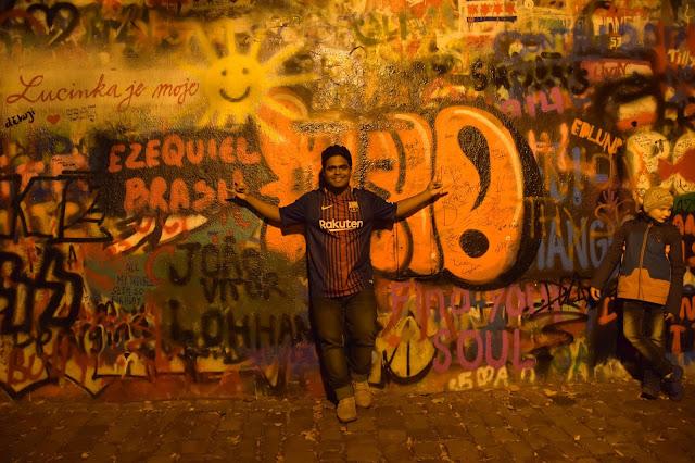 Lennon Wall , Prague Murals