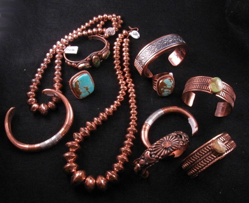Random Thoughts on Native American Indian Jewelry: Copper