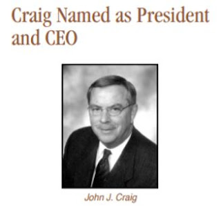 2002 John Craig become president and CEO of Midland National
