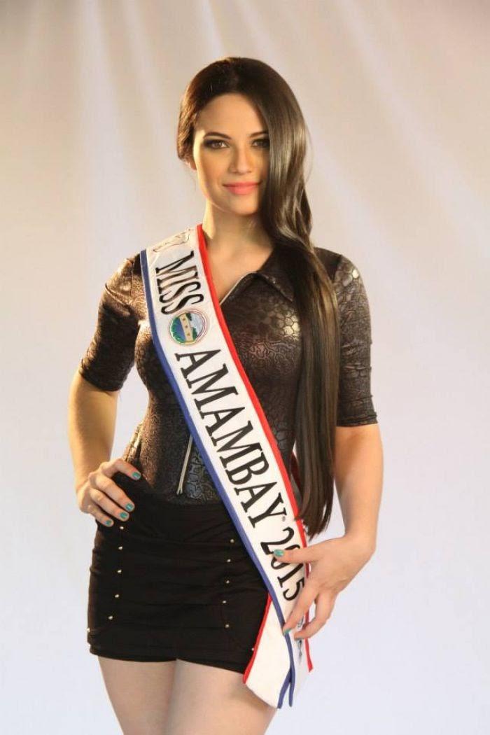 Camila Esther Novaes Cabo De Vila Miss Amabay 2015