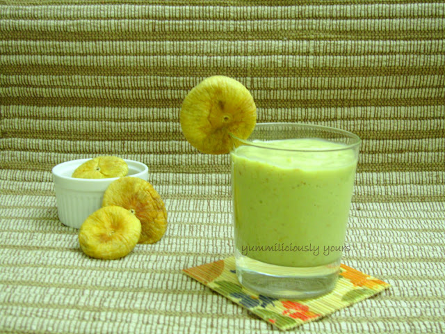 Moroccan Avocado Smoothie