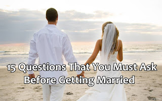 questions that we must ask before getting married