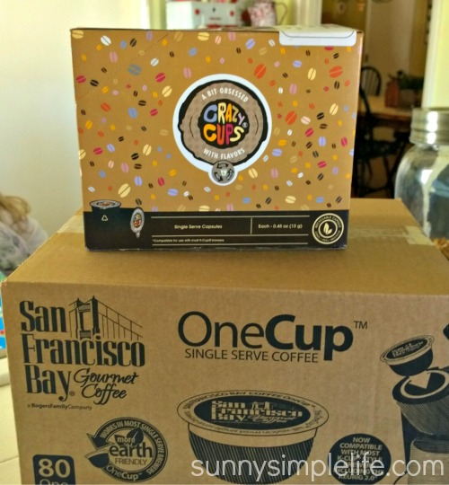Amazon prime, k-cups from Amazon, coffee by the case