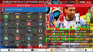 FTS World Cup Russia 2018 By Dafid Skaterz Apk + Data Obb