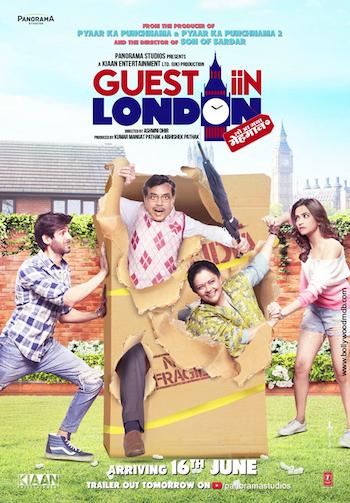 Guest Iin London 2017 DVDRip 480p Hindi 300MB
