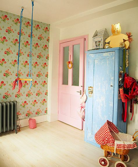 Vintage Kids Room: The Boo And The Boy: Vintage Kids' Rooms