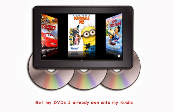 Get my DVDs I already own onto my Kindle Fire-PC Mac Compatibility
