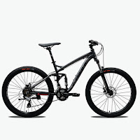 26 pacific override full suspension mtb