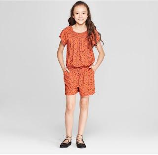 Romper bé gái, Cat&Jack, hàng gia công vn, 2 màu tím và cam . Lấy 2 màu, mình giảm 10k/2 màu nha.