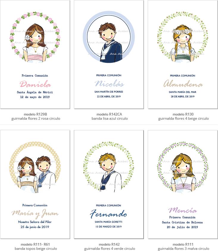 portafotos  primera comunión personalizados