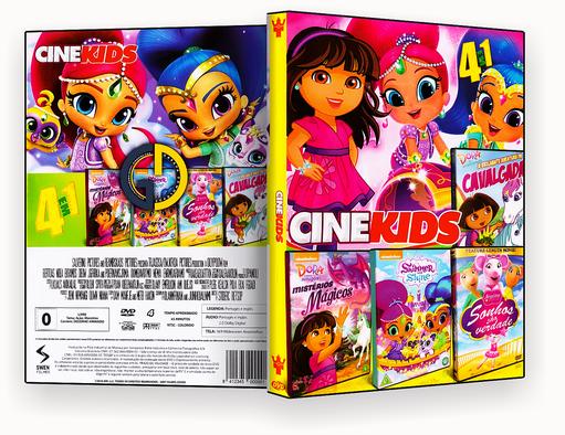 Coleção – Cine Kids – 4 em 1 (2018) – ISO