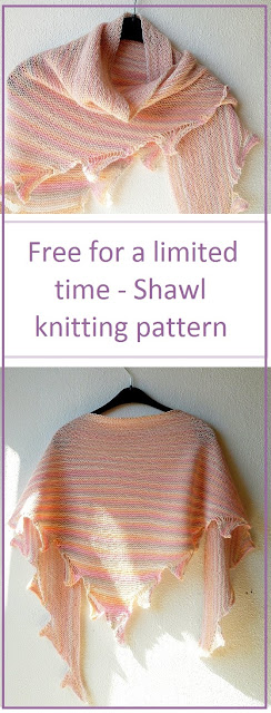 Free for a limited time - shawl knitting pattern