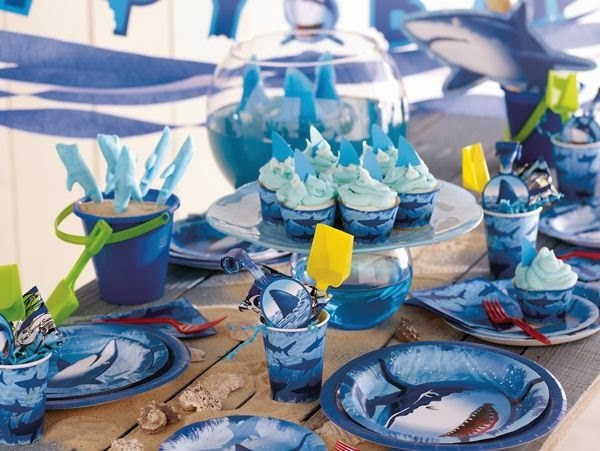 Resultado de imagen para decoracion de tiburones