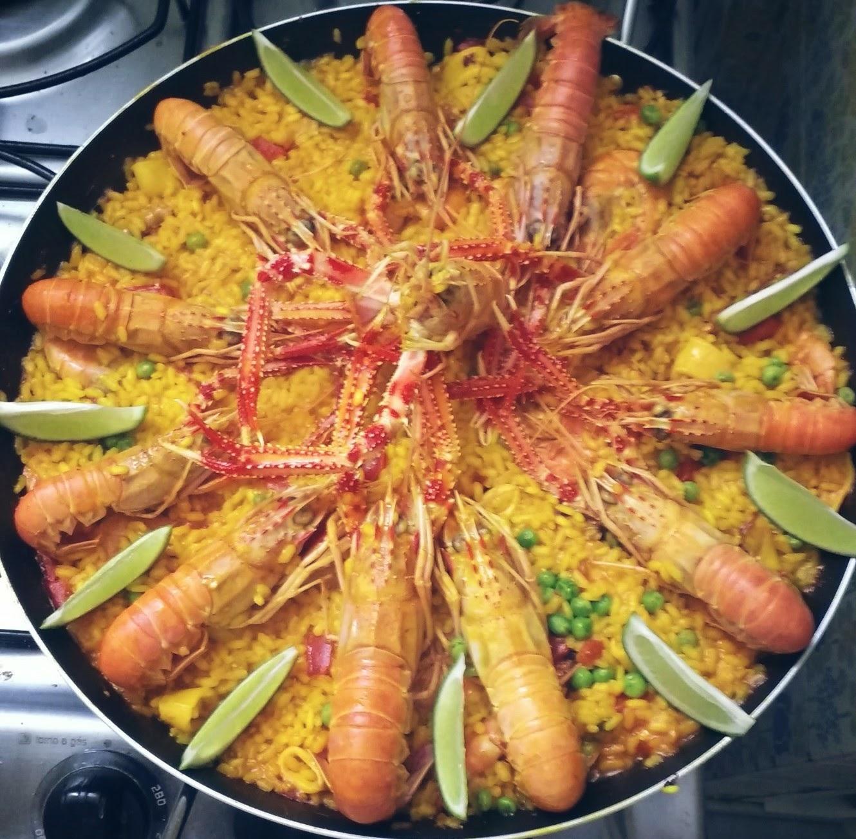 Receitas Da Felicidade: Paella De Frutos Do Mar