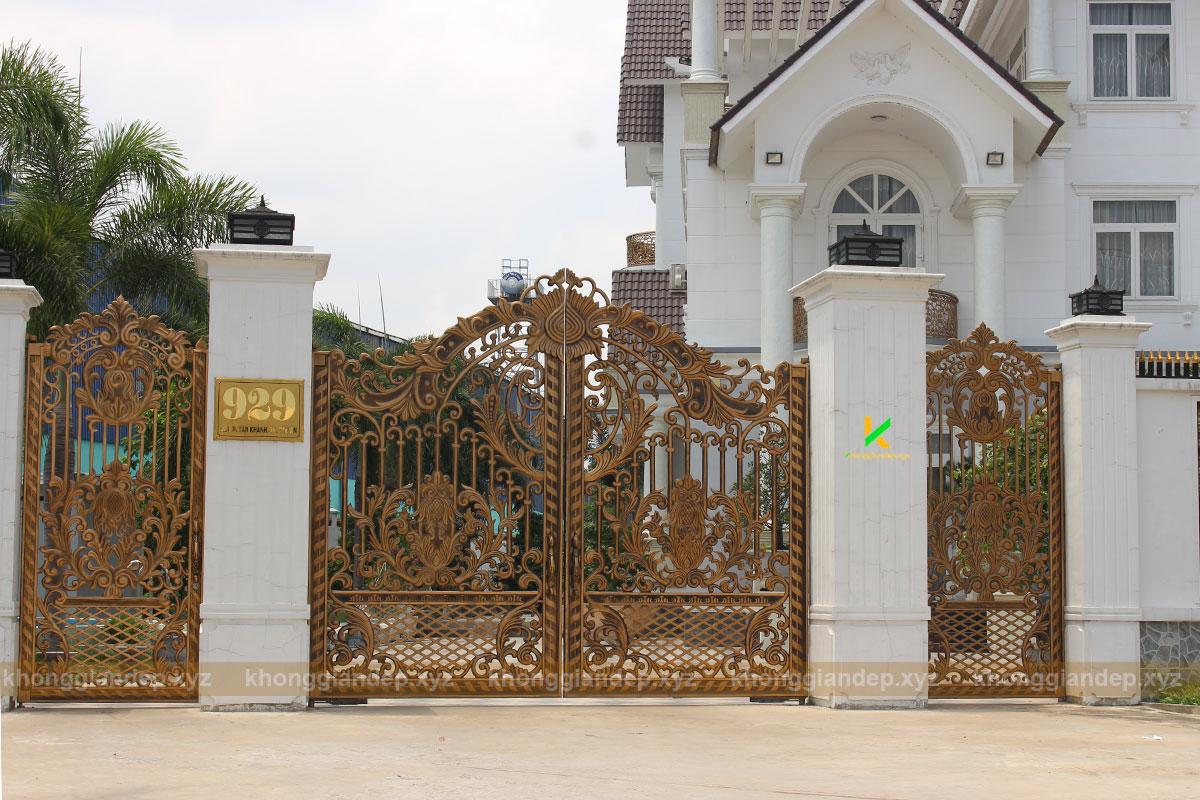 Mẫu cổn nhôm đúc phong cách tân cổ điển