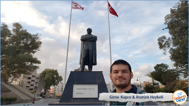 Girne-Kapisi-Nerede-Ataturk-Heykel-Lefkosa