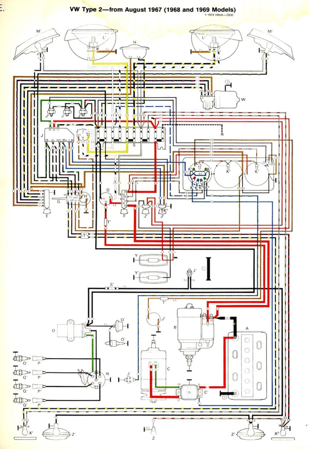 vw bus regulator wiring wiring diagram library