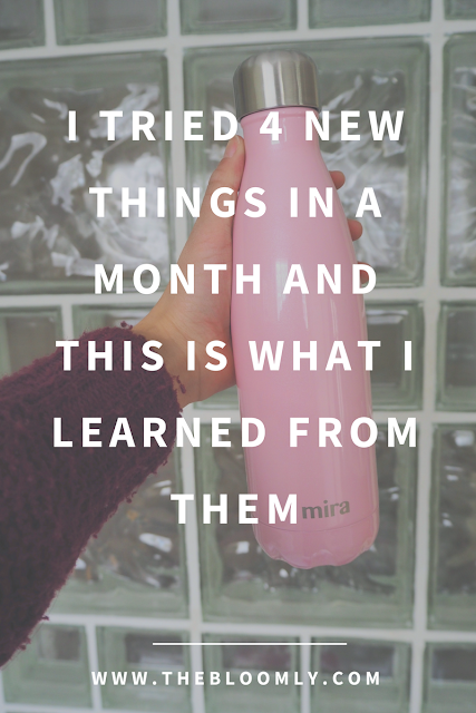 I Tried 4 New Things in a Month and This is What I Learned From Them