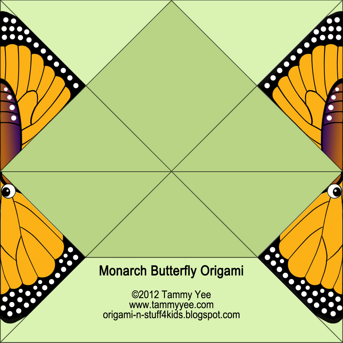 Easy Monarch Butterfly Crafts