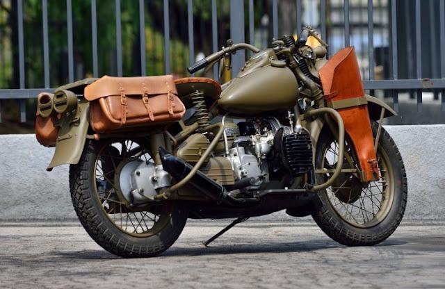 Harley Davidson Military XA 1942 Flat-twin