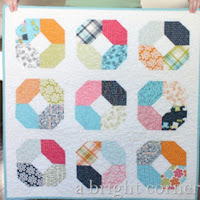 Charming Lucy free quilt pattern from A Bright Corner