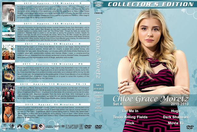 Chloe Grace Moretz Collection Set 4 DVD Cover