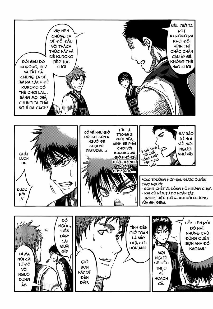 Kuroko No Basket chap 237 trang 11