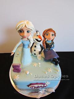 A Elsa, a Anna e o Olaf foram ao 5º aniversário da Matilde
