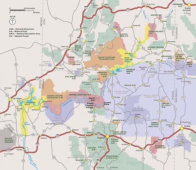 Onde ficar: melhores regiões no Grand Canyon
