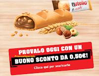 Logo Nutella B-Ready: scarica il buono sconto!