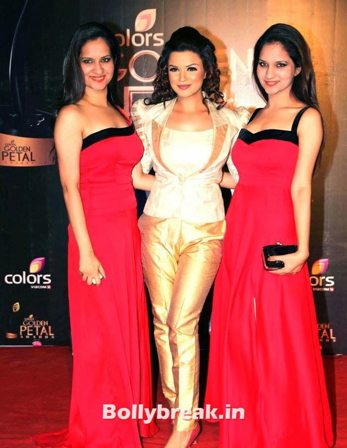Aashka Goradia, Colors Golden Petal Awards Dec 2013 Photos