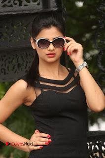 Actress Kamna Ranwat  Pictures in Black Short Dress at Selfie Raja Interview  0022