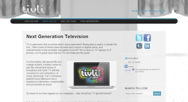 Watch Free Live HDTV stream broadcast on laptop, tablet, cell phone in US Universities (IPTV)