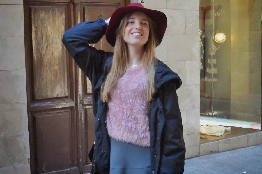 jersey de pelo rosa