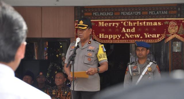Gelar Operasi Lilin, Polres Tana Toraja Libatkan 345 Personil untuk Pengamanan Natal dan Tahun Baru