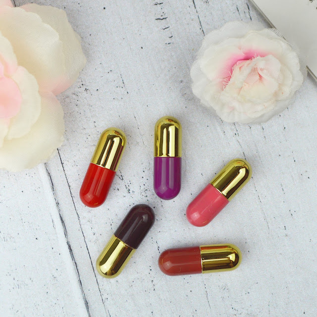 Winky Lux Charm Highlighter and Mini Lip Pill Kit Review with Swatches, Lovelaughslipstick Blog