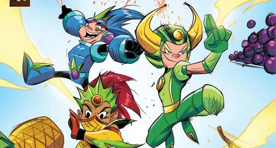 Dynamite Entertainment Reveals Fruit Ninja Comic Book Series In Works.