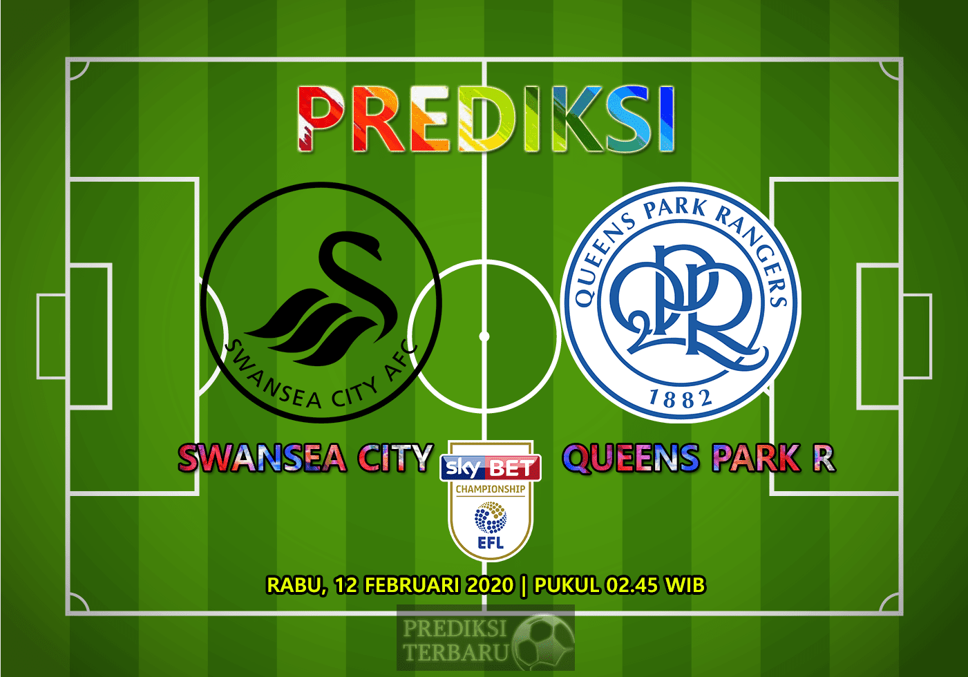 Prediksi Swansea City Vs Queens Park Rangers 12 Februari
